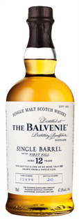 The Balvenie Scotch Single Malt 12 Year Single Barrel...